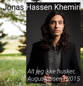 Jonas Hassen Khemiri (foto med illustrasjon).