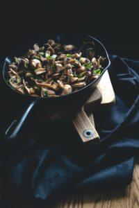 Sopp i steikepanne, foto